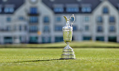 Claret Jug at Carnoustie - 147th Open Championship