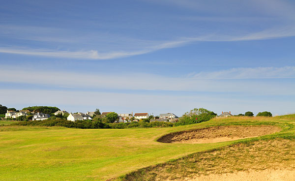 St Enodoc Golf Club 12th hole