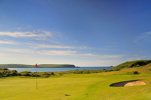 St Enodoc Golf Club 16th hole