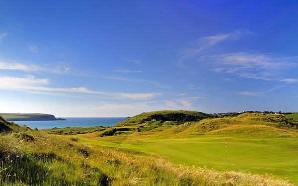 St Enodoc Golf Club 17th hole