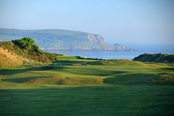 St Enodoc Golf Club 1st hole