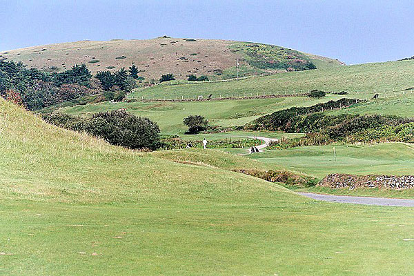 St Enodoc Golf Club 3rd and 4th holes
