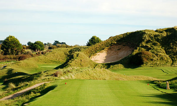 St Enodoc Golf Club - 6th hole