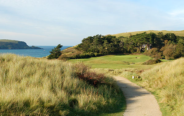 St Enodoc Golf Club - 9th hole