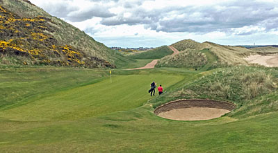 Cruden Bay - approach to the 14th green