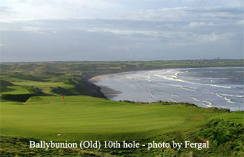 Ballybunion (Old) 10th hole - photo by Fergal O'Leary