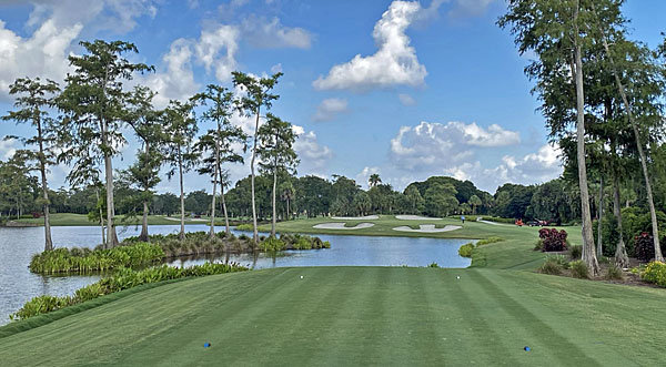 Banyan Golf Club 16th hole
