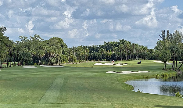 Banyan Golf Club 17th hole
