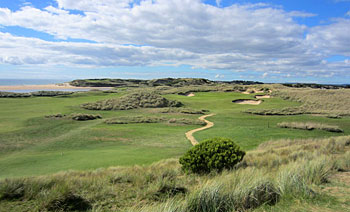 Barnbougle Dunes - 13th hole