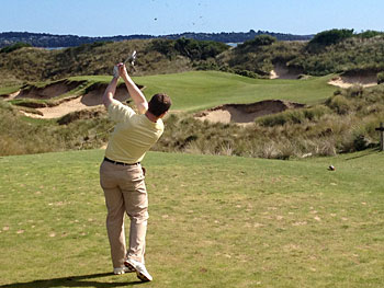 Barnbougle Dunes - 7th hole