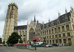 St Rumbold's Cathedral - Mechelen