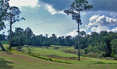 Woodlands course at the Bintan Lagoon Resort