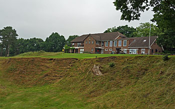 Blackmoor Golf Club 18th hole