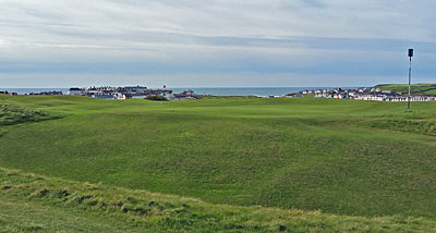 Bude & North Cornwall Golf Club 7th hole