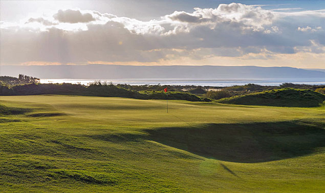 Burnham & Berrow Championship course
