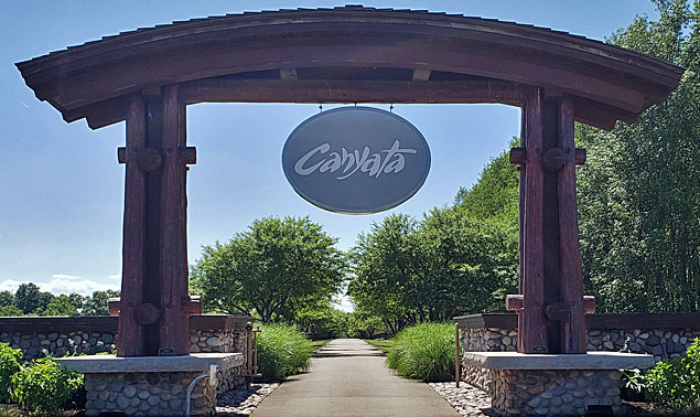 Canyata Golf Club entrance