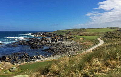 Cape Wickham 11th hole