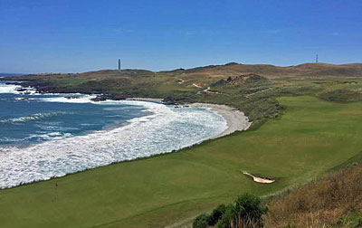 Cape Wickham 18th hole