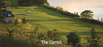 The Carrick golf course at Cameron House