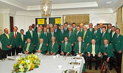 Champions Dinner 2017 Augusta National Golf Club
