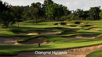 Chiangmai Highlands golf course