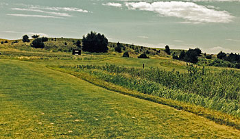 Dismal River Red 17th tee shot