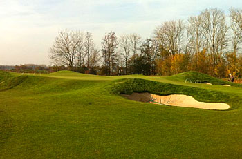 The Dutch 8th green - photo by David Davis