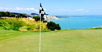 Cape Kidnappers - 15th hole