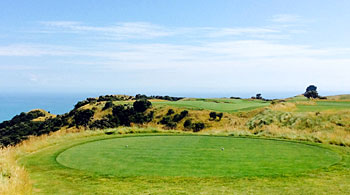 Cape Kidnappers - 5th hole