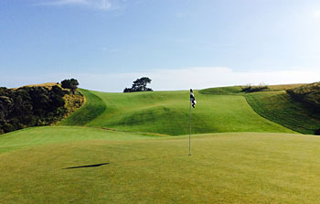 Cape Kidnappers - 7th hole