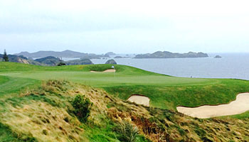 Kauri Cliffs 7th hole