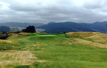 Paraparaumu Beach 13th hole - photo by Fergal