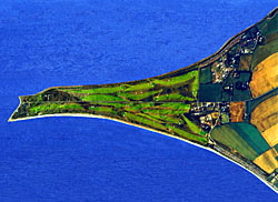 Stunning aerial shot - courtesy of Fortrose & Rosemarkie GC