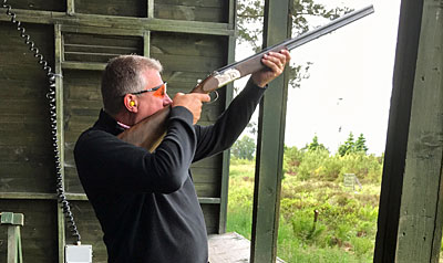 Gleneagles clay pigeon shooting