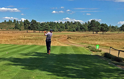 Hankley Common Golf Club 10th hole