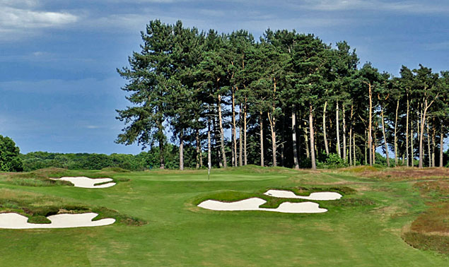 Ipswich Golf Club Purdis Heath course