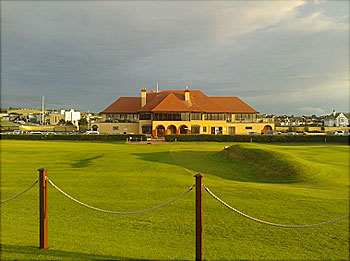 Royal Portrush Clubhouse