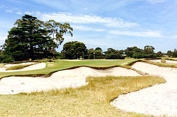 Kingston Heath 10th hole