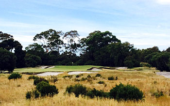Kingston Heath 5th hole