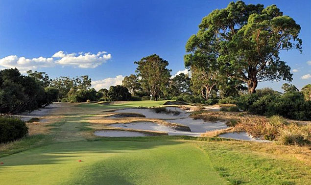 Kingston Heath Golf Club - photo by Gary Lisbon