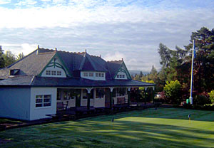 The delightful Kingussie Clubhouse - picture by Martin Jordan