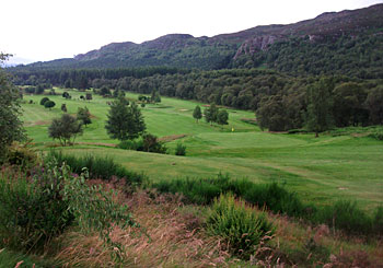 Kingussie Golf Club - photo by Jim McCann