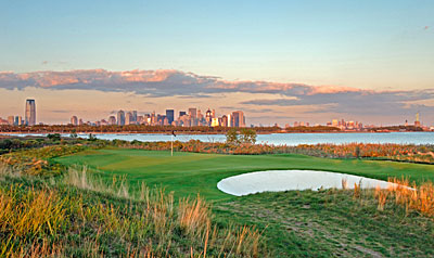 Liberty National 14th hole