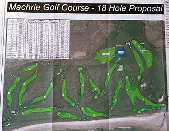 Course changes at the Machrie