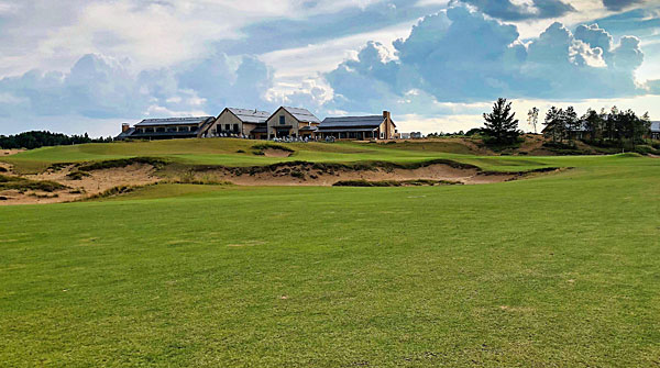 Mammoth Dunes course at Sand Valley