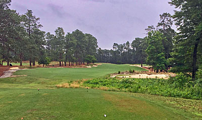 Mid Pines 4th hole