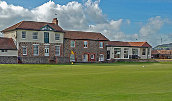 Minehead & West Somerset Golf Club 18th green