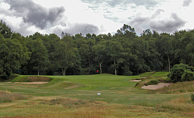 Moortown Golf Club - Gibraltar hole