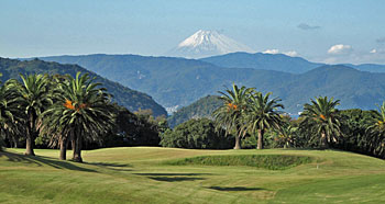 Mt Fuji from the 11th hole