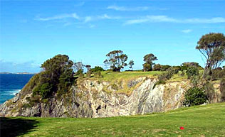 Hogan's Hole - 3rd at Narooma Golf Club
